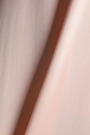 IRIS & INK Aries silk-satin midi dress