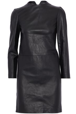 PROENZA SCHOULER Cutout leather mini dress
