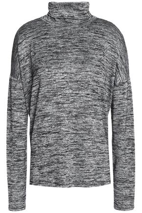 RAG & BONE Cutout stretch-knit turtleneck sweater