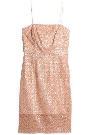 MILLY Laci embellished tulle dress