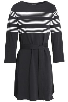 A.P.C. Striped cotton-jersey mini dress
