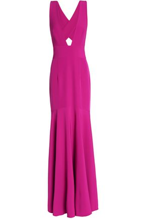 MILLY Penelope fluted cady gown