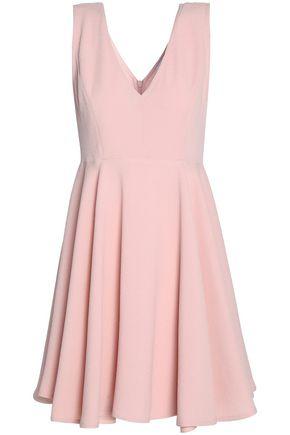 SANDRO Paris Pleated cloqué mini dress