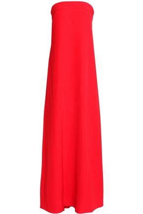 MILLY Vanessa strapless cady maxi dress