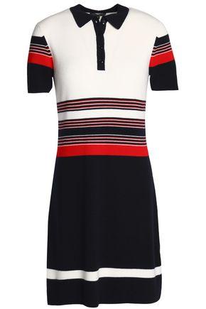 RAG & BONE Color-block merino wool shirt dress