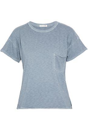 RAG & BONE/JEAN Marled cotton-jersey T-shirt