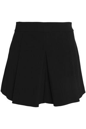 ALICE + OLIVIA Olette pleated twill shorts