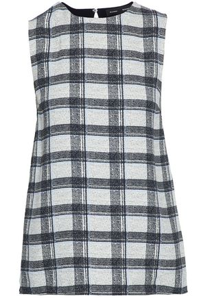 PROENZA SCHOULER Checked crepe top