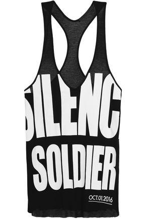 HAIDER ACKERMANN Printed jersey tank