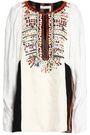 CHLOÉ Embellished jacquard tunic