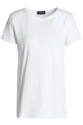 A.P.C. Stretch cotton-jersey T-shirt