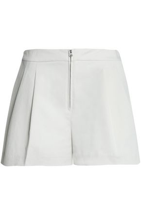 3.1 PHILLIP LIM Pleated cotton-blend twill shorts