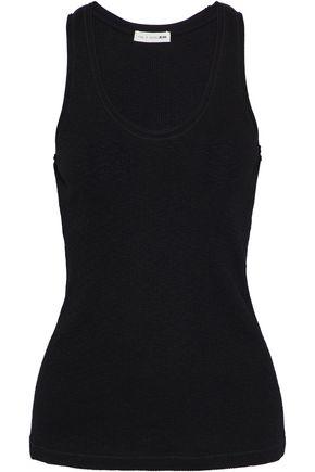 RAG & BONE/JEAN Ribbed-knit cotton top