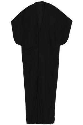HAIDER ACKERMANN Draped silk maxi dress