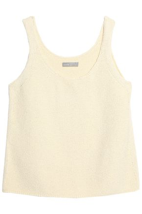 VINCE. Knitted cotton tank