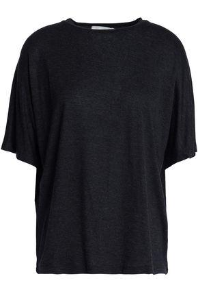 VINCE. Mélange jersey T-shirt