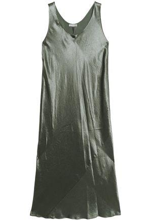 VINCE. Satin maxi dress