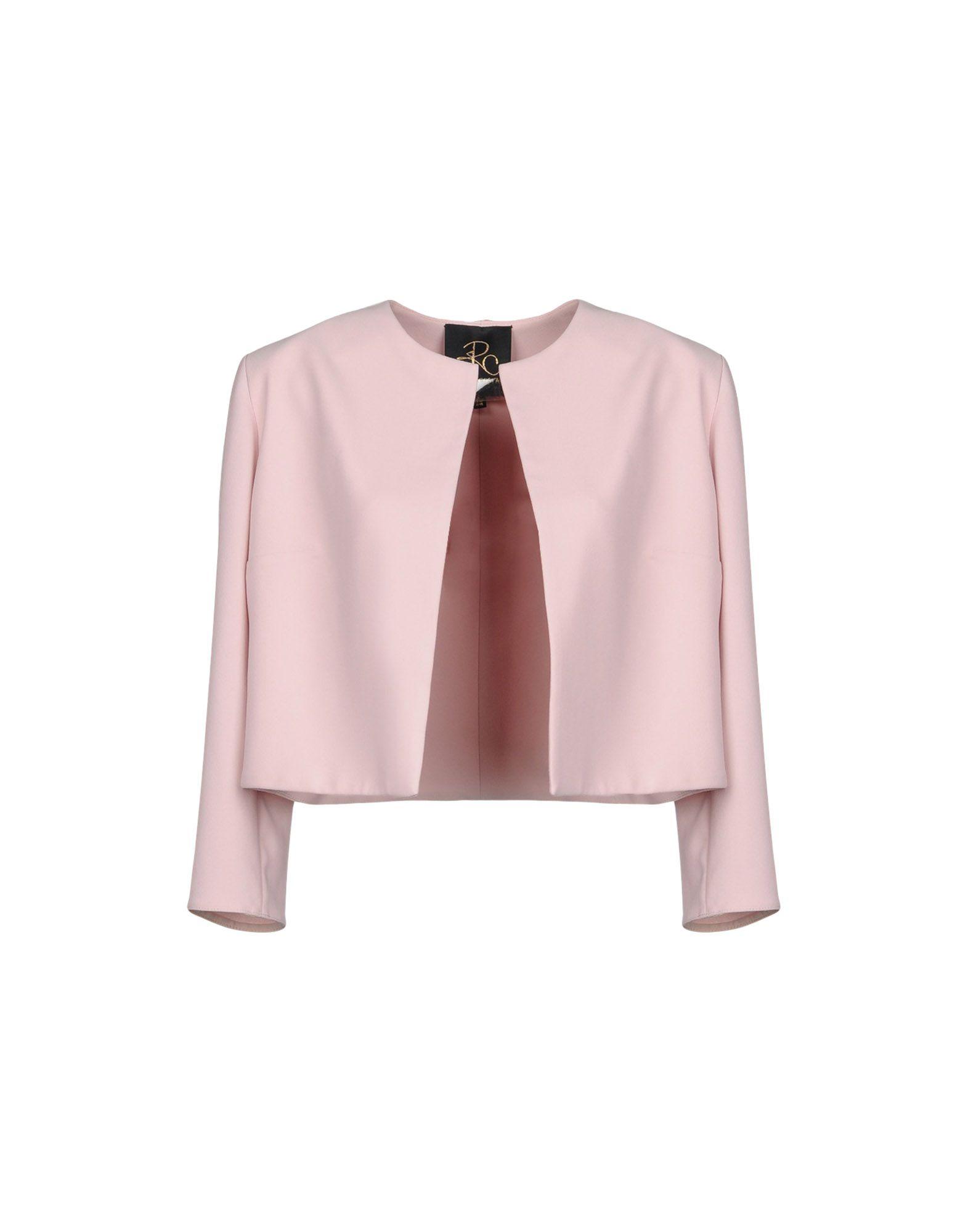 RHEA COSTA Blazer in Light Pink