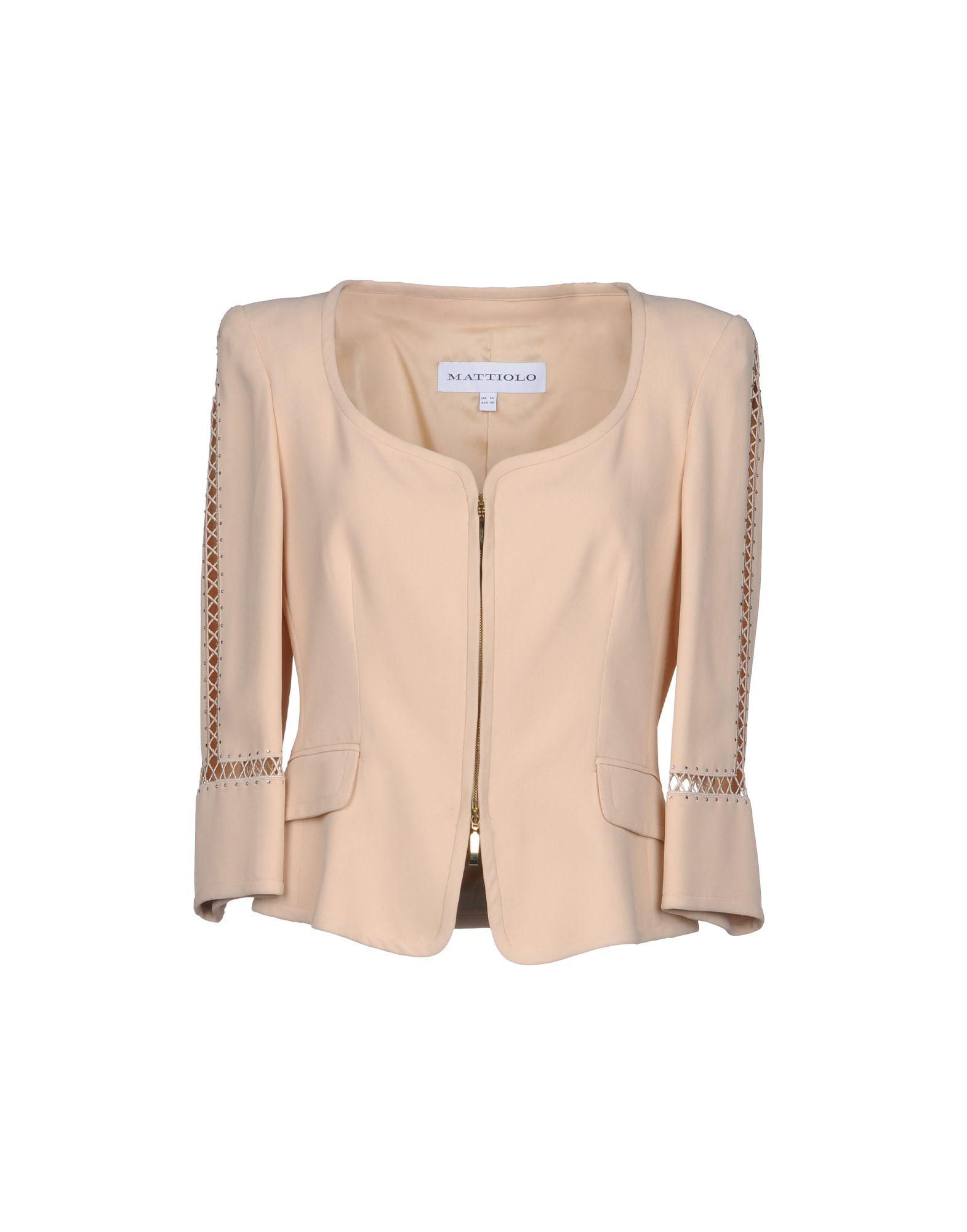 GAI MATTIOLO Пиджак gai mattiolo couture юбка длиной 3 4