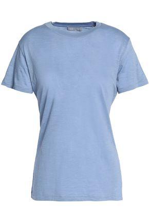 VINCE. Slub Pima cotton-jersey T-shirt