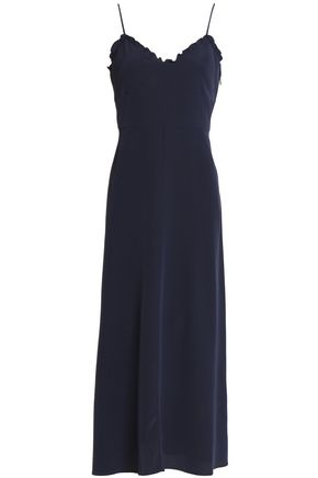 TIBI Silk midi slip dress