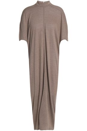 RICK OWENS Jersey midi dress