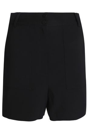 TIBI Cotton-blend shorts