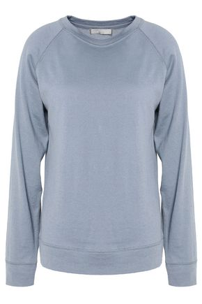 VINCE. Pima cotton and cashmere-blend top