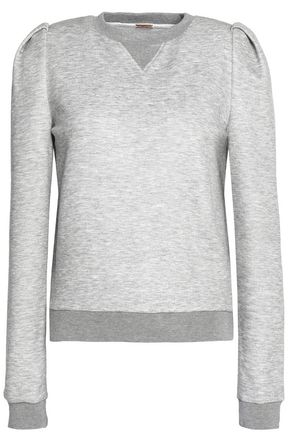 ADAM LIPPES Mélange stretch-jersey sweatshirt