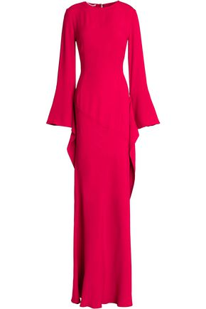 ANTONIO BERARDI Draped sateen gown