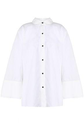 HALSTON HERITAGE Cotton-jacquard shirt