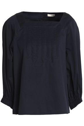 TIBI Cotton-poplin blouse