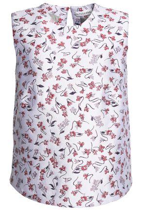 ALTUZARRA Floral-jacquard top
