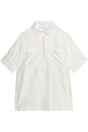 SANDRO Paris Silk crepe de chine shirt