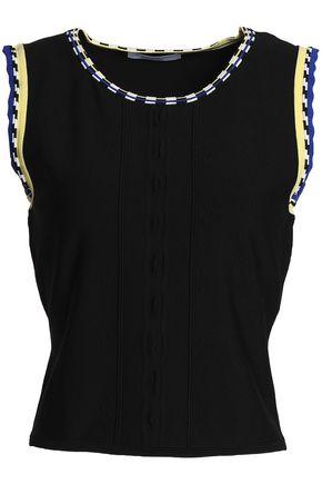 SANDRO Paris Stretch-knit top