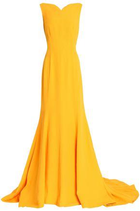 OSCAR DE LA RENTA Crepe gown