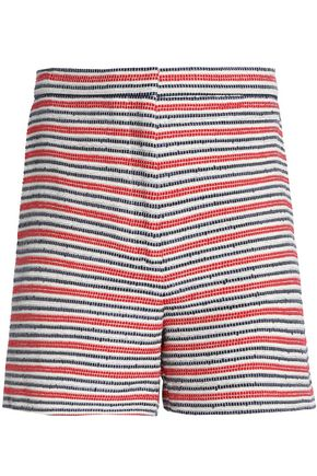 SANDRO Paris Cotton-blend jacquard shorts