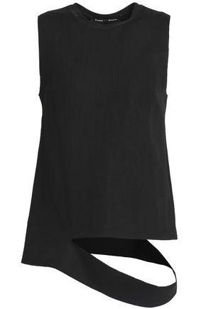 PROENZA SCHOULER Cutout cotton-blend jersey top