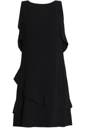 PROENZA SCHOULER Ruffled crepe mini dress