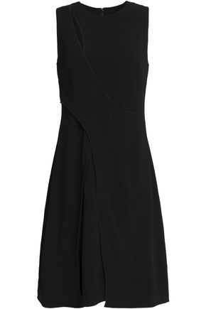 PROENZA SCHOULER Wrap-effect cutout crepe dress