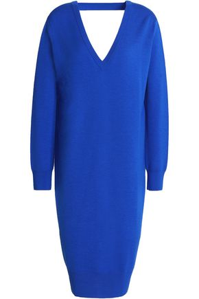 PROENZA SCHOULER Cutout merino wool-blend dress