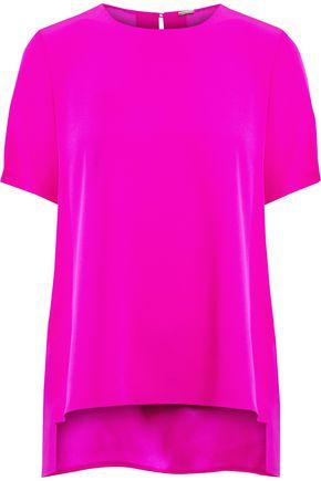 ADAM LIPPES Silk crepe de chine top