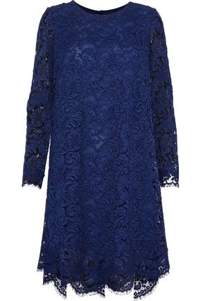 ADAM LIPPES Cotton-blend corded lace dress