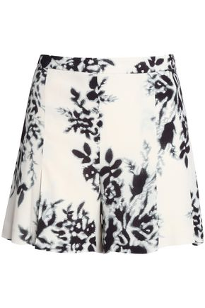 BY MALENE BIRGER Floral-print crepe shorts