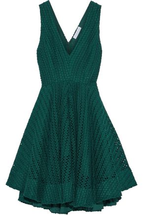 SANDRO Flared woven dress