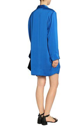 BY MALENE BIRGER Satin wrap mini dress