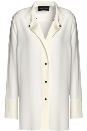 BY MALENE BIRGER Silk-satin shirt