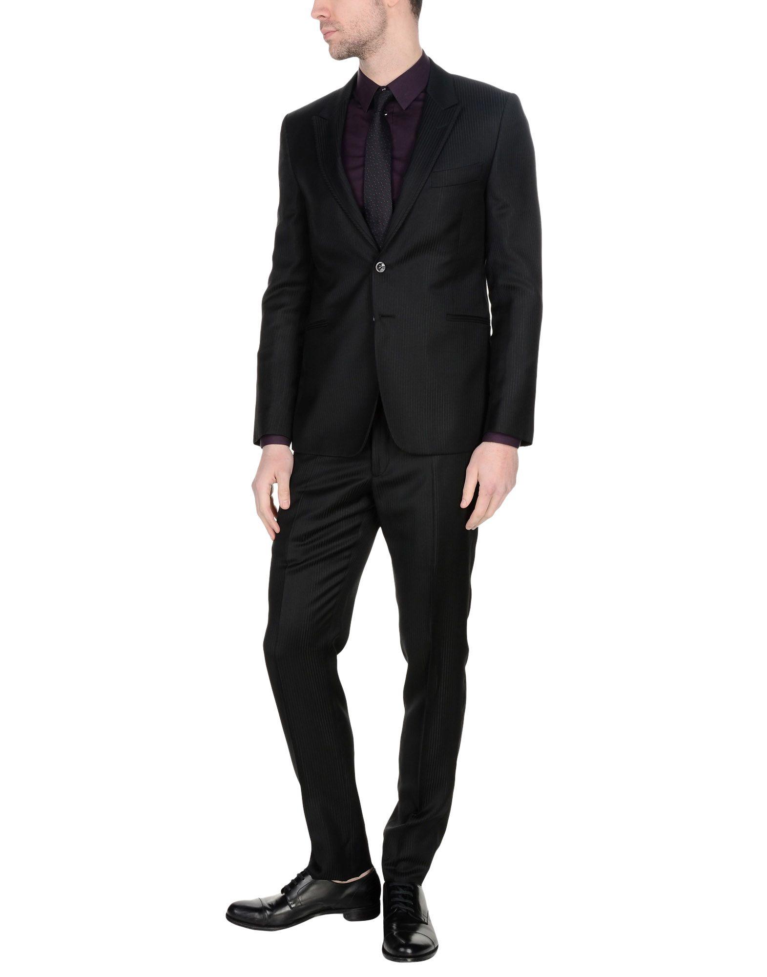 CARLO PIGNATELLI Suits in Black
