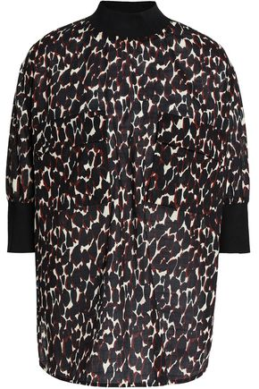 BY MALENE BIRGER Leopard-print cotton-voile top