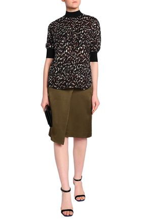 BY MALENE BIRGER Leopard-print cotton-voile top
